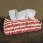 フィンランドの毛糸でかわいいミニ巾着袋を!作り方、編み方